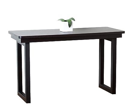Abbyson Living Fairhaven Espresso Sofa Table