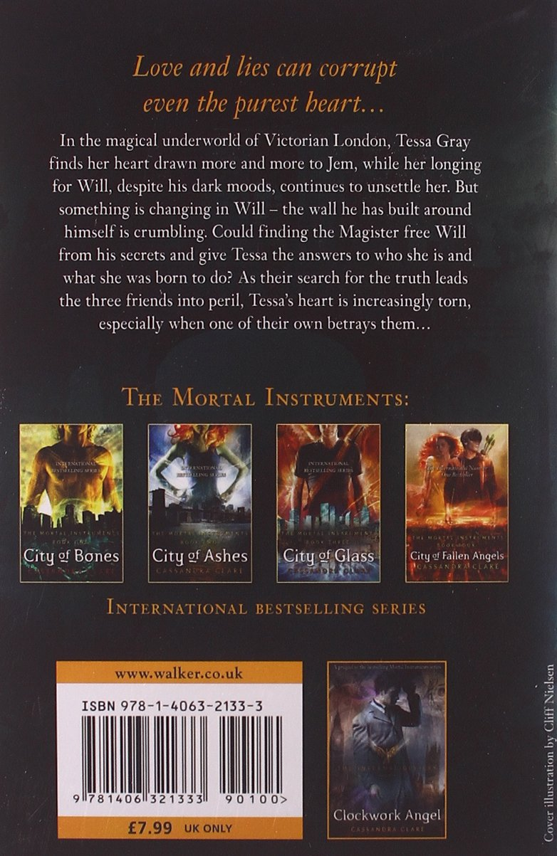 Buy Infernal Devices: Clockwork Prince  Book 2 (the Infernal Devices) Book  Online At Low Prices In India  Infernal Devices: Clockwork Prince  Book 2  (the