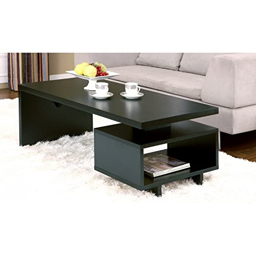 Metro Shop Furniture of America Open-cabinet Coffee Table