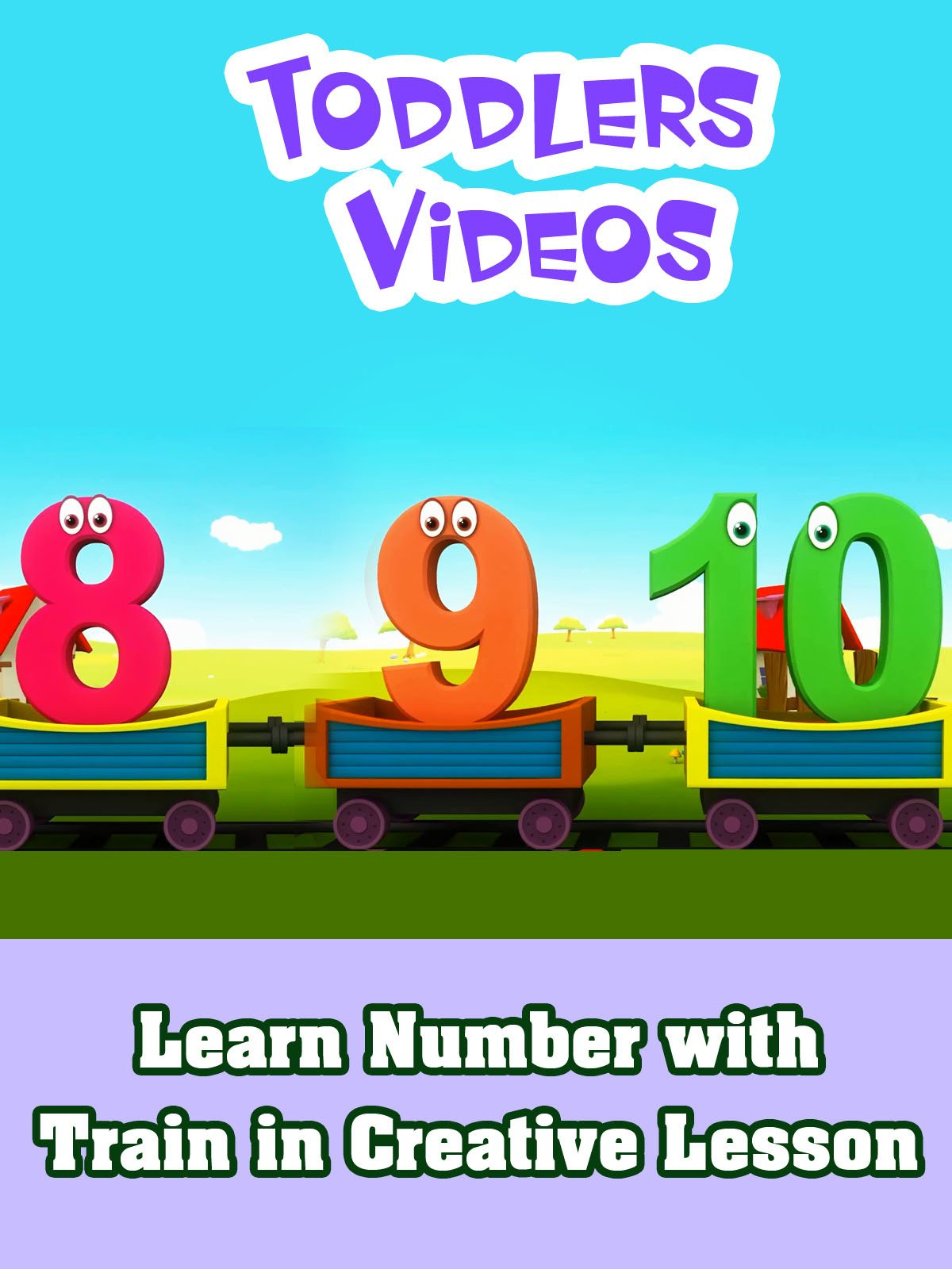 Learn Number with Train in Creative Lesson