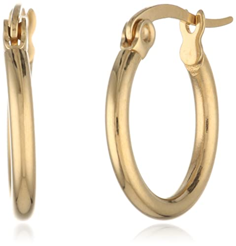 18-Karat-Gold-Plated-Small-Round-Hoop-Earrings