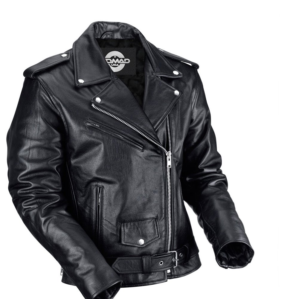 Bikers Zone Leather Jacket Review Nomad USA Classic Biker Jacket