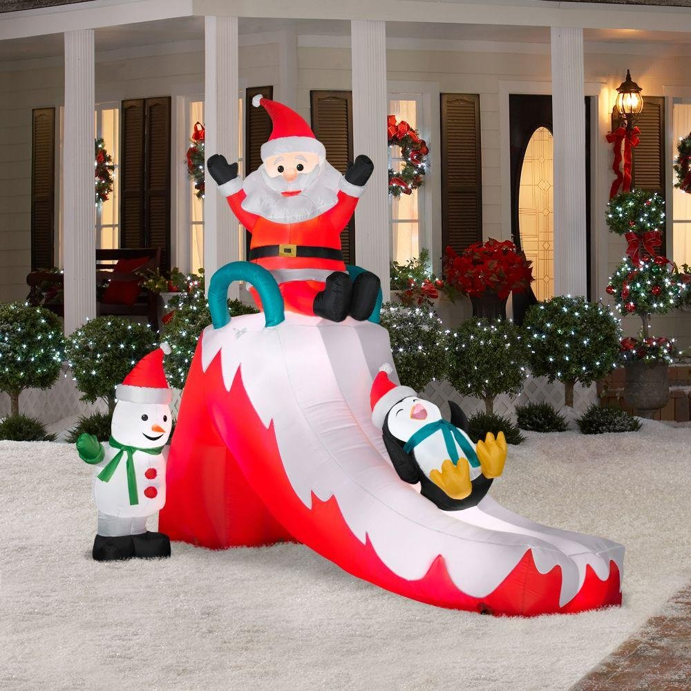 Christmas outdoor inflatables page two christmas wikii for Inflatable christmas decorations