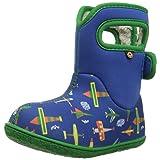 Bogs Baby Snow Boot, Planes Blue/Multi, 5 M US Toddler (Color: Planes Blue/Multi, Tamaño: 5 M US Toddler)