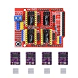 Witbot CNC Shield Expansion Board with drv8825 Stepper Motor Driver with Heat Sink for Arduino V3 Engrave