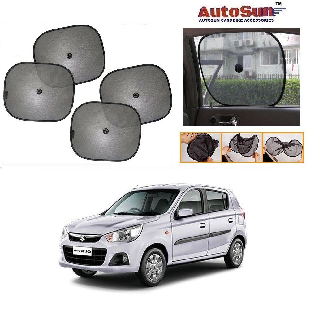 Maruti Alto K10 Price Used Car2016: Autosun Car Sun Shade Set Of 4 For Maruti Suzuki Alto K10