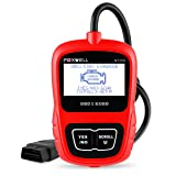 FOXWELL Automotive Obd2 Scanner NT200 Car OBD II Fault Code Reader Check Engine Light Error Codes CAN Obd ii Diagnostic Scan Tool Update Online(Red) (Tamaño: NT200 OBDII code scanner)
