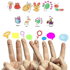 Craft Ink Pad Stamps Partner DIY Color,20 Color Ink Pad for Stamps, Paper, Wood Fabric, Kid's Rubber Stamp Scrapbooking Card Making Beautiful Water-Soluble Colors (Pack of 20) by Weierken. (Color: S 20 color)