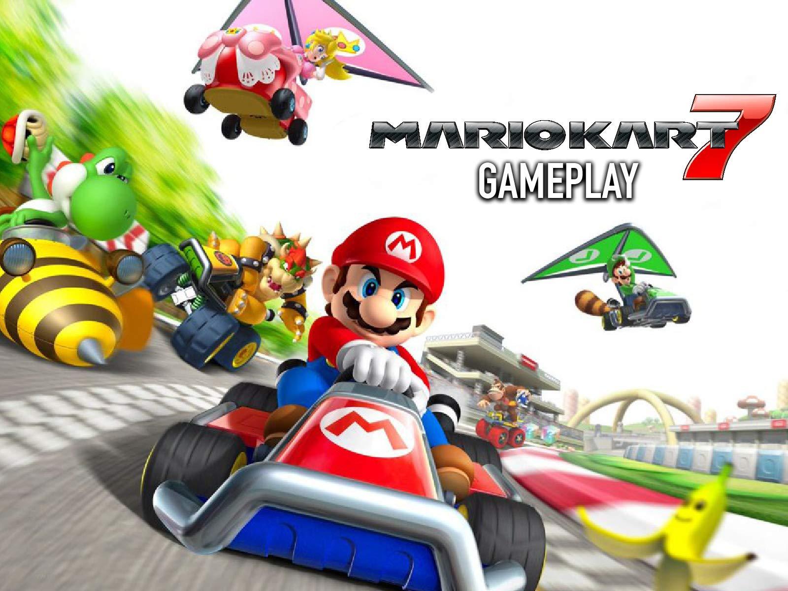 Mario Kart 7 Gameplay