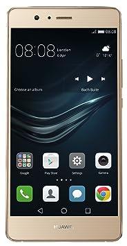 Huawei P9 lite Smartphone débloqué 4G (Ecran: 5,2 pouces - 16 Go - Android 6.0 Marshmallow) Or