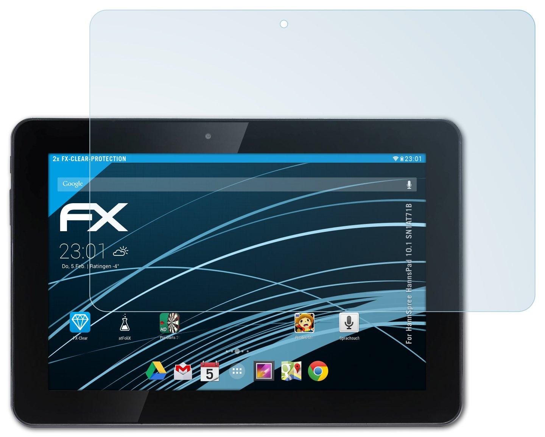 2 x atFoliX HannSpree HannsPad 10.1 (SN1AT71B) Lámina Protectora  Electrónica Más información y revisión del cliente