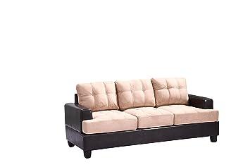 Glory Furniture G588A-S Living Room Sofa, Mocha