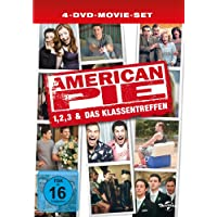 American Pie 1, 2, 3 & Das Klassentreffen [Limited Edition] [4 DVDs]