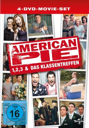 American Pie 1-3 / American Pie - Das Klassentreffen [Limited Edition] [4 DVDs]