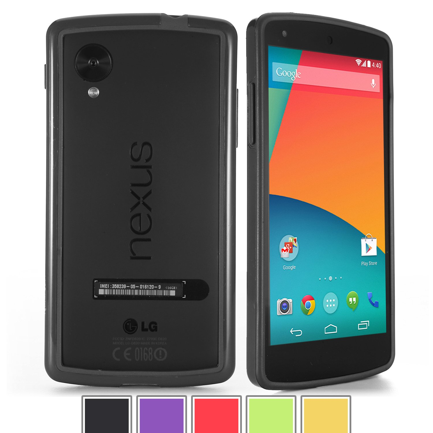 Poetic Borderline Bumper for Nexus 5