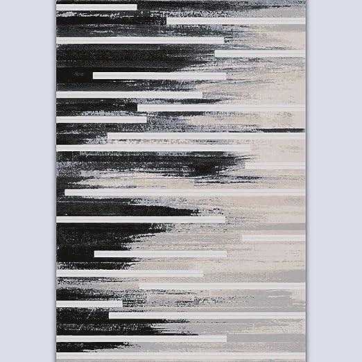 Lying Mesa de centro Salón Dormitorio Estudio Sofá Arte Tinta Pintura Mash Up Alfombra Simple Proceso Moderno Suave Suavizar Mats encontrar ( Color : #2 , Tamaño : 90*120cm )