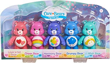 Care Bears Articulated Toy Figure Pack of 5