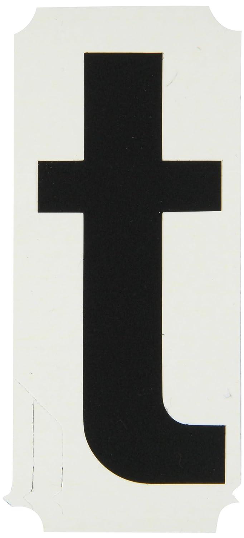 Brady 8255-T Vinyl (B-933), 4 Black Helvetica Quik-Align - Black Lower Case, Legend T (Package of 10) микрофонная стойка quik lok a344 bk