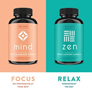 Zen Premium Anxiety and Stress Relief Supplement - Natural Herbal