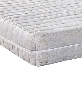 Stones Seven Materasso, Foam, Bianco, 160 x 200 x 20 cm