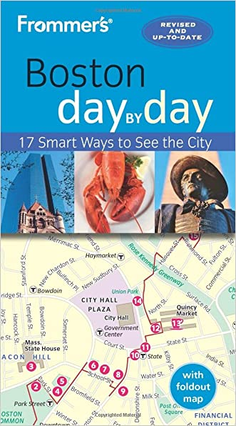 Frommer's Boston day by day written by Marie Morris