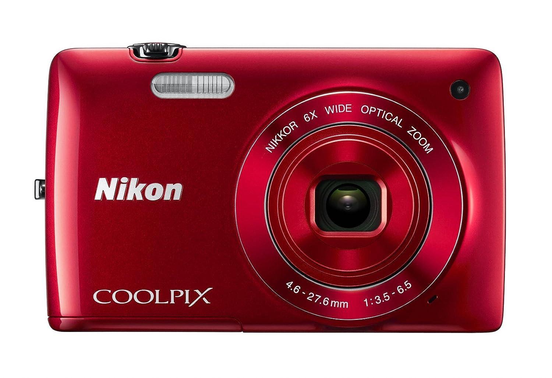 Nikon COOLPIX S4200 16.0 MP Digital Camera – Red