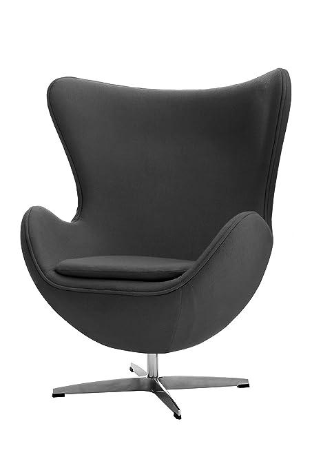 Premier Housewares Revolving Jubilee Chair - 108 x 82 x 76 cm, Grey
