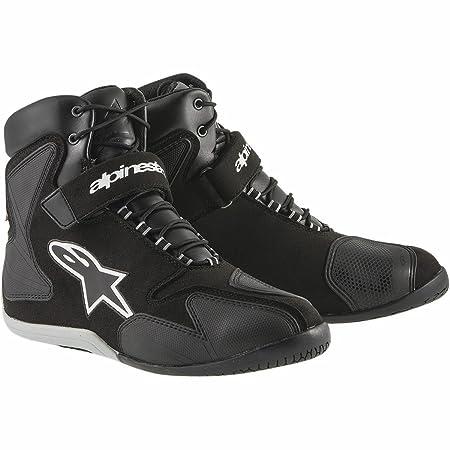 Alpinestars fastback wP bottes de moto taille :  43, couleur :  noir/blanc