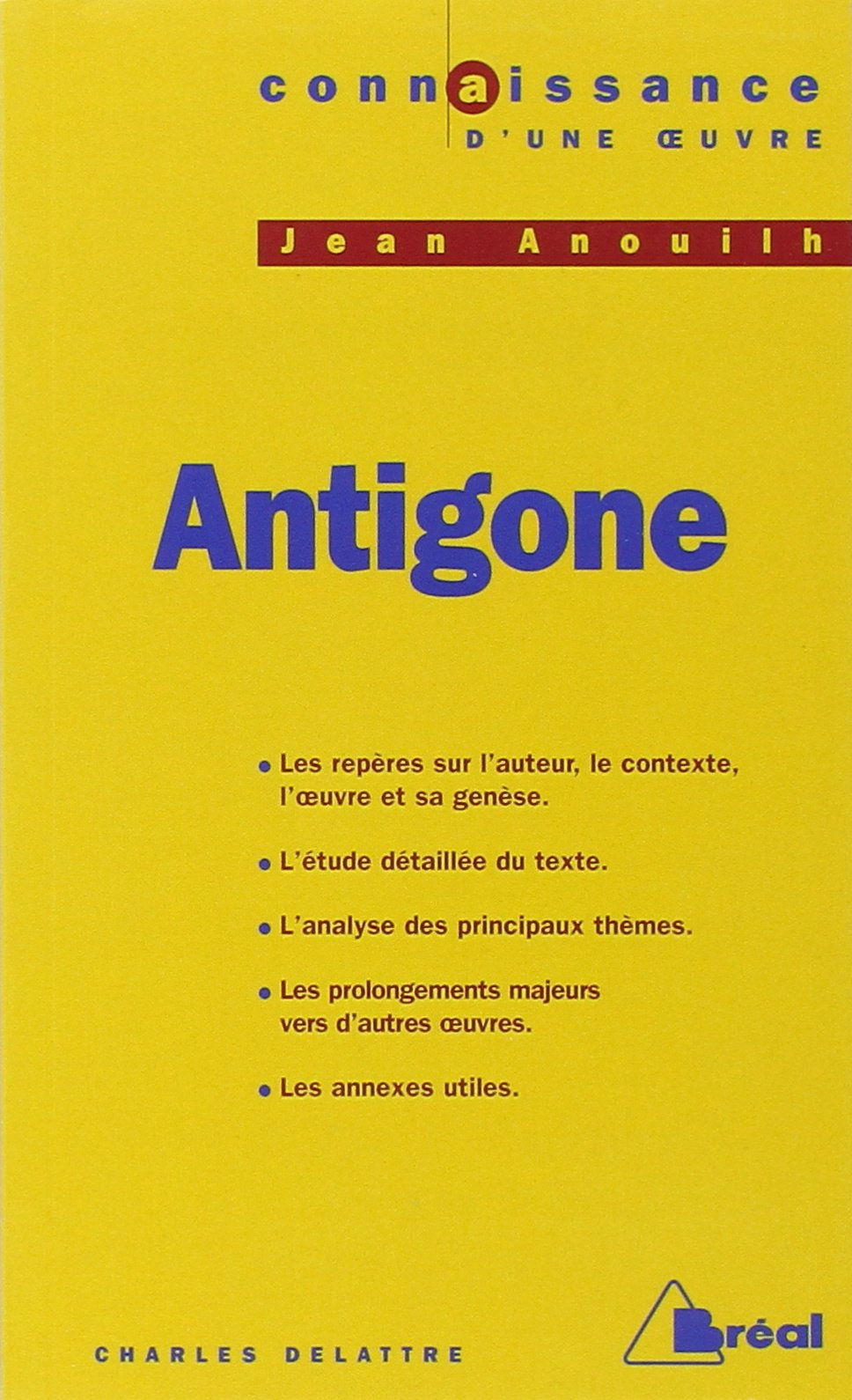 Antigone de Sophocle (Page 1) � Autres littratures - Etudes