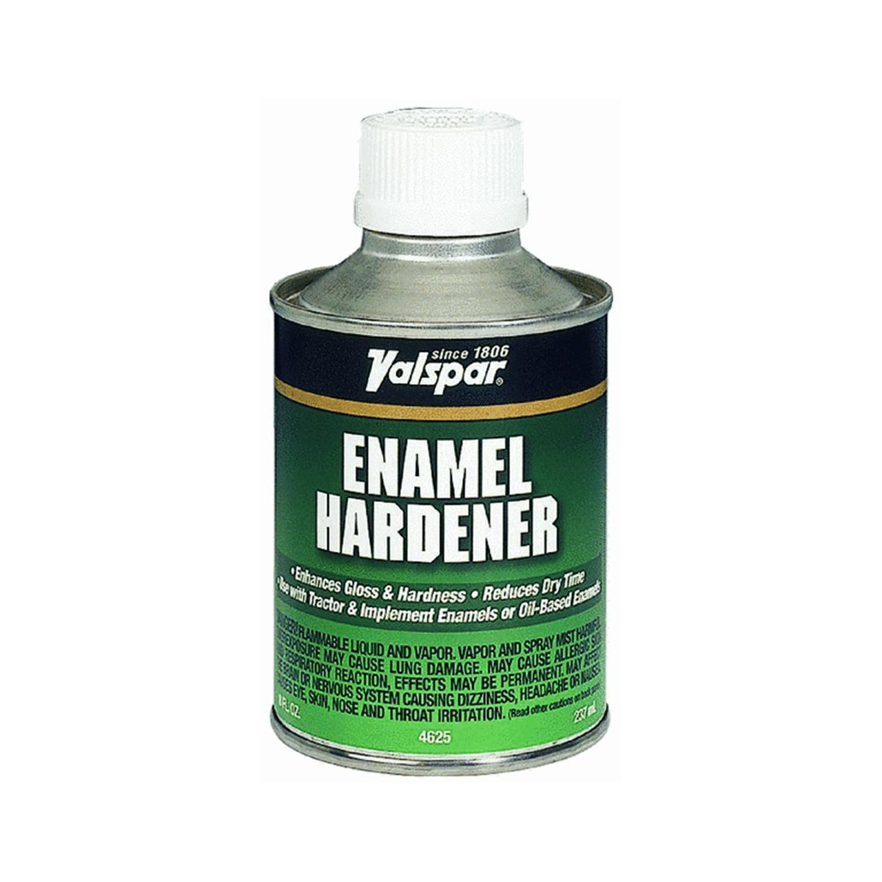 Just mix in the recommended amount with your paint and let sit for a half hour before use dries hard as a rock in a hour