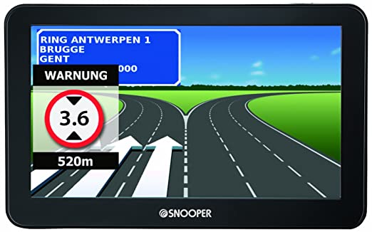 "Snooper Ventura Pro S6400 GPS Auto Ecran 7"" (17,78 cm)"