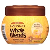 Garnier Whole Blends Repairing Mask Honey Treasures, 10.1 Fluid Ounce (Color: Honey Treasures, Tamaño: 10.1 Fl Oz)