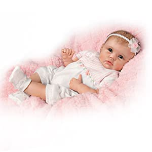 So Truly Real  Olivia&'s Gentle Touch  Lifelike Baby Girl Doll By Linda Murray by Ashton Drake       reviews and more info