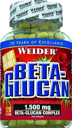 Weider Beta Glucan- 120 Kapseln, 1er Pack (1 x 96 g)