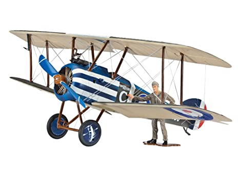 Revell - 64747 - Maquette D'aviation - Model Set - Sopwith F.1 Camel - 56 Pièces - Echelle 1/28