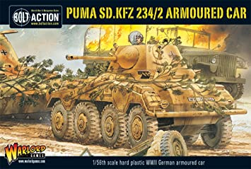 Bolt Action - Puma, SD.KFZ 234/2 Armoured Car - WGB.WM.506 -. Warlord Jeux