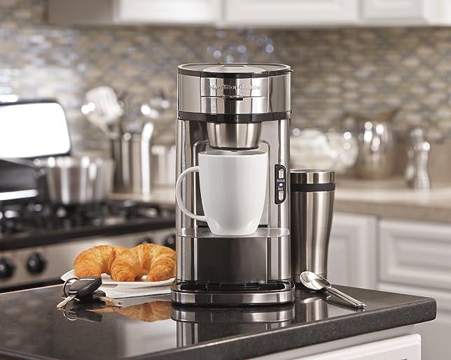 Hamilton Beach 49981A Single Serve Scoop Coffee Maker Via Amazon