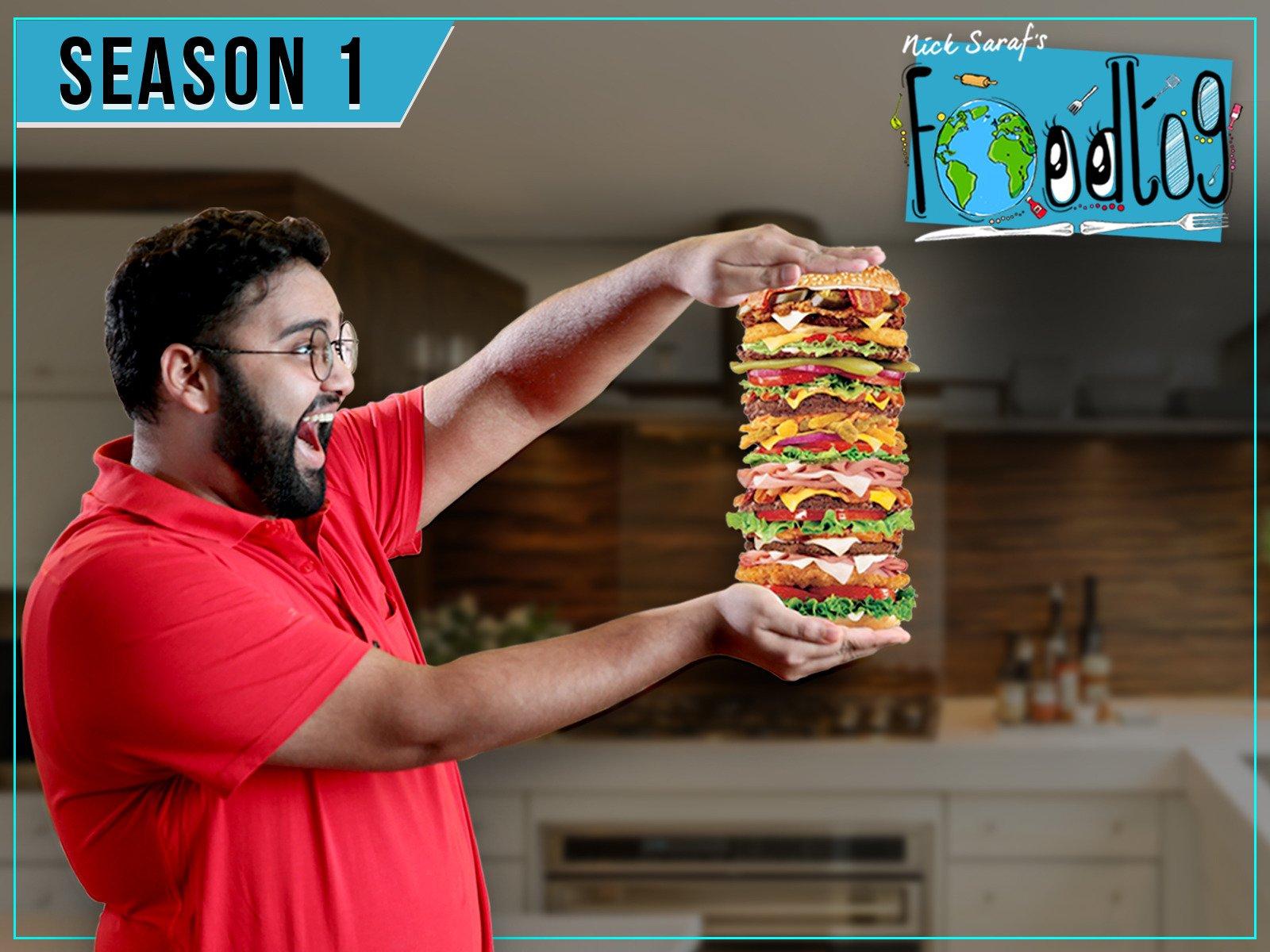 Clip: Nick Saraf's Foodlog - Season 1