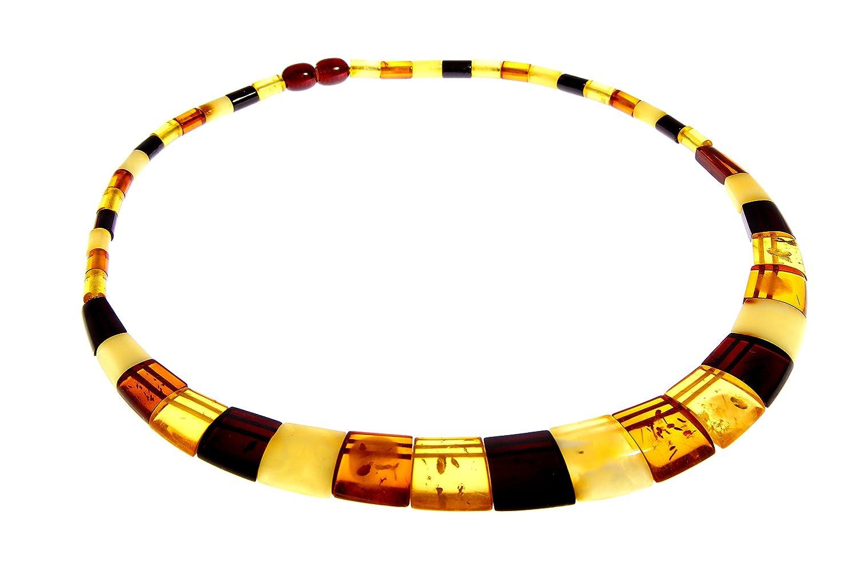 SilverAmber - Damen - Echte Baltischen Bernstein Halskette -NE0155
