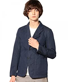 Beste Cotton Work Jacket 3222-186-0248: Navy