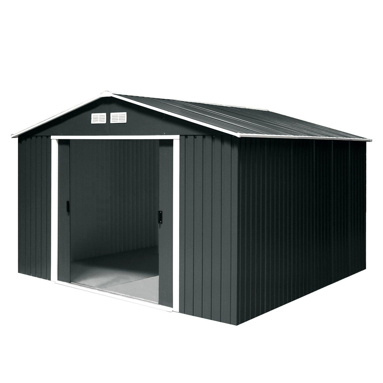 Tepro Gartenhaus / Metallgerätehaus Titan 8×10 anthrazit jetzt bestellen