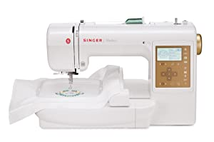 Singer S10 Studio 5.5 by 5.5-Inch and 2 by 2-Inch Embroidery Machine