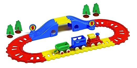 Model train starter set n scale, model railway buildings