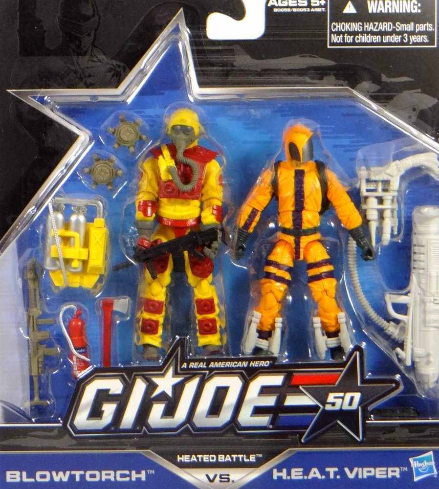 G.I. Joe Blowtroch vs. H.E.A.T. Viper – Heated Battle – 50th Anniversary 2015 – Actionfiguren Set von Hasbro günstig kaufen