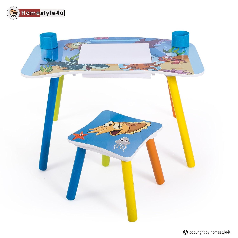 Homestyle4u Kindermaltisch Zeichentisch Kinder Tisch Stuhl Spieltisch Kindertisch Maltisch kaufen