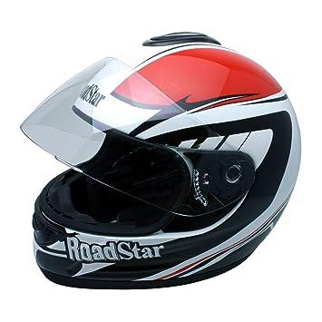Roadstar 0.501.3 integral casque de moto rouge revolution