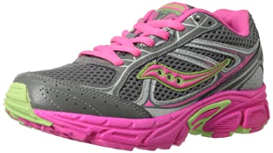 Saucony Girls Cohesion 7 Lace Running Shoe (Little Kid/Big