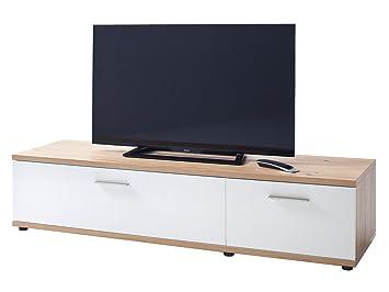 """TV-Lowboard Unterschrank HiFi Element Fernsehtisch Rack Schrank """"Meggie II"""""""