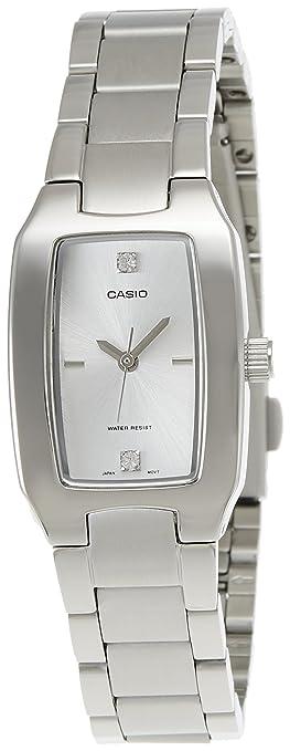 Casio Enticer Analog White Dial Women\