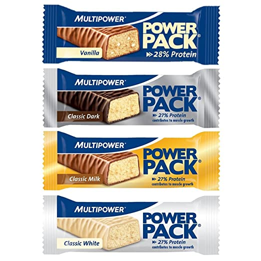 Multipower Power Pack Protein Bar Eiweissriegel a 30 x 35g) BIG BOX, MIX BOX